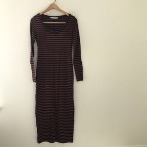 Peruvian Connection NWOT Stripe Maxi Dress XS